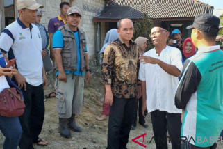 Wali Kota Pangkalpinang kunjungi korban kebakaran di Parit Lalang