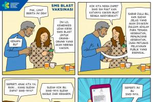 SMS Blast Vaksinasi