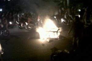 Satpol PP Denpasar Tertibkan PKL