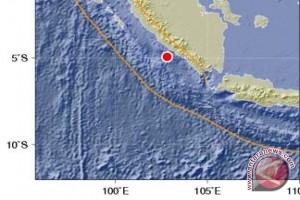 Gempa 5,4 SR Guncang Bengkulu Selatan
