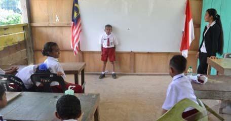 sekolah CLC di Sabah, Malaysia, yang mendidik anak-anak TKI yang