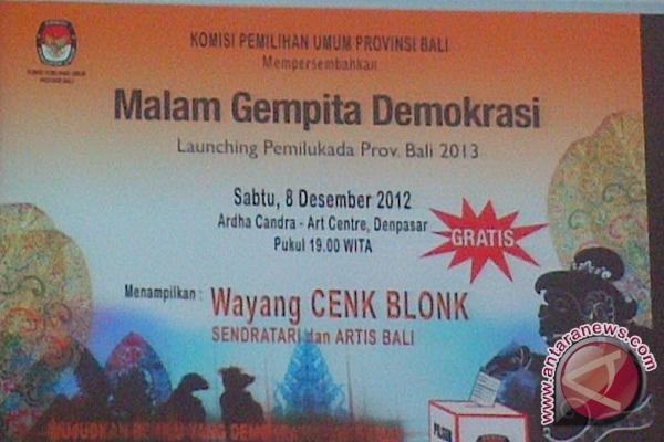 Peluncuran Tahapan Pilgub Bali Serentak