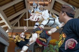 Ratusan Ogoh-ogoh di Denpasar Dinilai