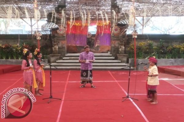 Pesta Kesenian Bali ke-35 di Taman Budaya Denpasar. (Foto Antara/DWA