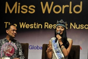 Miss World 2012 Terkesan Budaya Bali