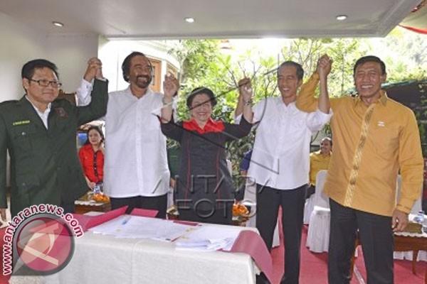 Koalisi PDIP akan Deklarasikan Pasangan Capres-Cawapres