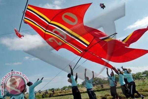 """Ratusan peserta ikuti """"Pitik Kite Festival ke-8"""""""