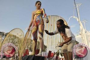 """""""Body Painting"""" Sanur Festival Minim Peserta"""