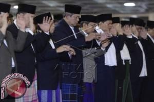 Presiden Yudhoyono Shalat di Istiqlal