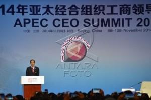 Presiden Tawarkan Investasi Bidang Infrastrktur di APEC 2014