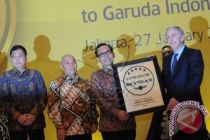 Garuda Raih Penghargaan Maskapai Bintang Lima