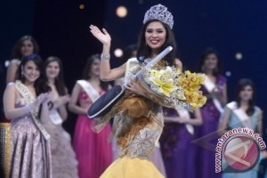 Miss Indonesia 2014 Raih Penghargaan Internasional