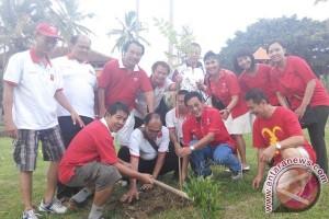 INTI Bali Lakukan Penanaman Pohon