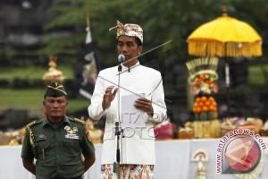 Presiden Hadiri Tawur Agung Kesanga di Prambanan
