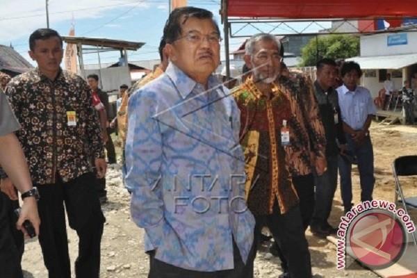 Wapres Kalla kunjungan ke Palangkaraya dan Makassar