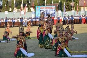 "Tari ""Pradhwaia Nilayam"" Meriahkan Penutupan Porprov Bali"