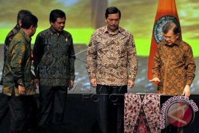Wagub Sudikerta Dampingi Wapres Jusuf Kalla Buka IPOC Di Nusa Dua