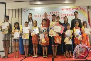 SDN 13 Denpasar Juarai Lomba Menggambar Antara