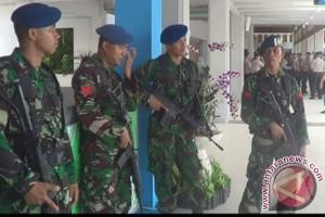 Polisi dan TNI Bali Patroli Antisipasi Teroris