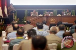 Presiden Singgung Profesionalisme Kerja Dalam Rapim TNI-Polri
