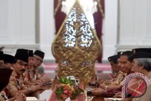 Presiden Bertemu Kwartir Nasional Gerakan Pramuka