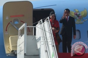 President Jokowi Leaves for United States