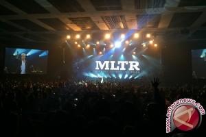 Konser MLTR Hangatkan Malam Valentine di Jakarta