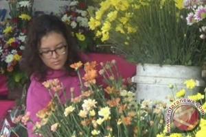 Berkah Penjual Bunga di Hari Valentine
