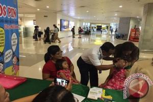 Bandara Ngurah Rai Dirikan Pos Imunisasi Nasional