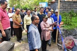 Bupati Mas Sumatri Resmikan Pembukaan Jalan Strategis Desa Sangkan Gunung