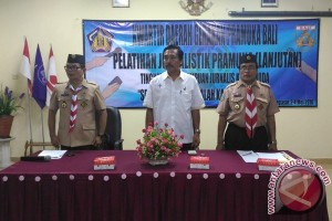 Kwarda Pramuka Bali Gelar Pelatihan Jurnalistik