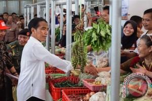 Presiden Jokowi Resmikan Pasar Manis Purwokerto