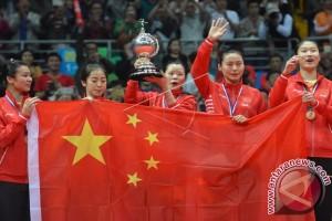 Tiongkok Rebut Piala Uber 2016