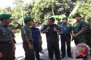 Petinggi TNI Tinjau TMMD di Buleleng
