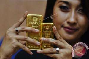 Emas Terus Menurun Dipicu Penguatan Ekuitas AS