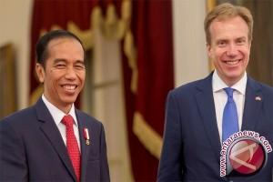 President Jokowi Receives Visiting Norwegian FM