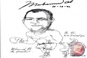 Ida Bagus Lolec Surakusuma Bertemu Muhammad Ali