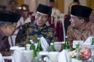 Presiden dan Wapres Buka Bersama di Kediaman Ketua DPR