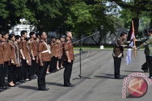 Presiden Jokowi Lepas Kontingen Olimpiade Indonesia Menuju Brasil