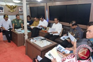 Presiden Minta Kembangkan Ekonomi Wilayah Natuna