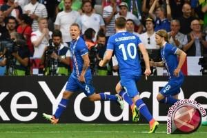 Hajar Inggris 1-2, Islandia Tantang Prancis di Perempatfinal