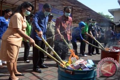 BBPOM Bali Musnahkan Ribuan Obat Ilegal