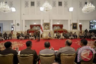 Presiden Evaluasi Kapolda Dan Kajati