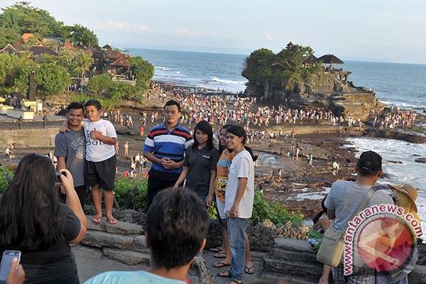 Pasca-Nyepi, 8.310 wisatawan kunjungi objek wisata Tanah Lot