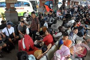Terminal Denpasar Berangkatkan 1.305 Pemudik H-6 Lebaran