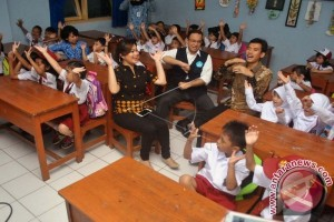 Mendikbud Sidak Hari Pertama Sekolah