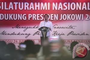 Presiden Minta Pendukung-Relawan Kawal Perubahan