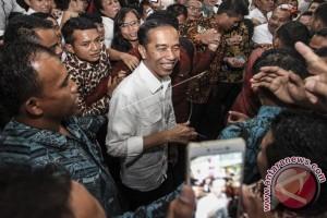 Presiden Jokowi Hadiri Silatnas Para Pendukungnya