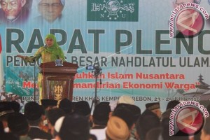 Mensos Sampaikan Program E-Warung