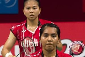 Greysia/Nitya Dihentikan Tang/Yu di Perempat Final